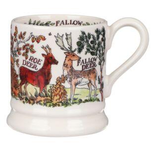 In The Woods Deer 1/2 Pint Mug  Emma Bridgewater
