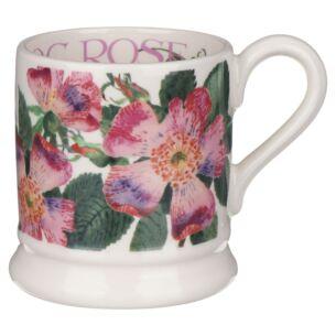 Flowers Dog Rose Half Pint Mug