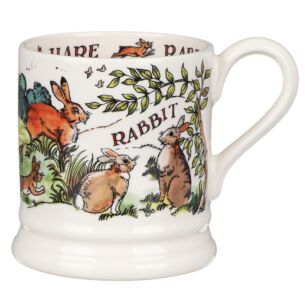In The Woods Hare and Rabbit Half Pint Mug
