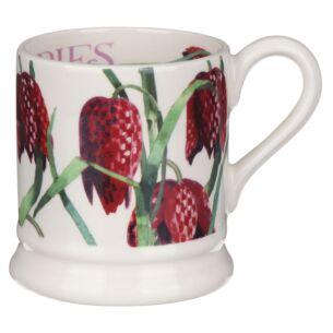 Flowers Snakehead Fritillary Half Pint Mug