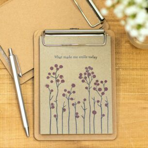 Small 'What Made Me Smile Today' Clip Pad