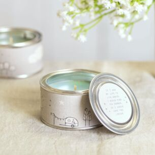 'Life to Live Again' Tin Candle