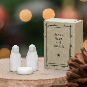 Matchbox Jesus, Mary & Joseph