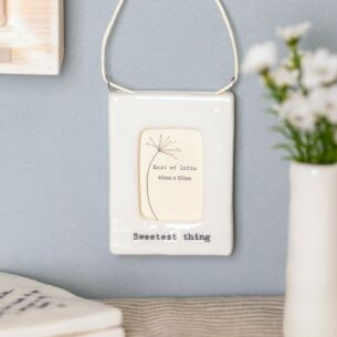 'Sweetest Thing' Mini Hanging Frame