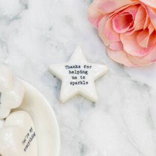 'Thanks For Helping Me Sparkle' Star Token