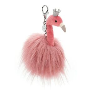 Fancy Flamingo Bag Charm