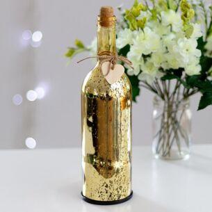 Gold LED Firefly Bottle