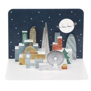 The Art File Christmas in London 3D Card