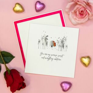 'You Are My Sunshine' Valentine's Day Card