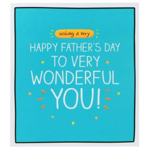 Wonderful You Father's Day Card