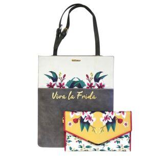 Frida Kahlo 2 in 1 Tote Bag