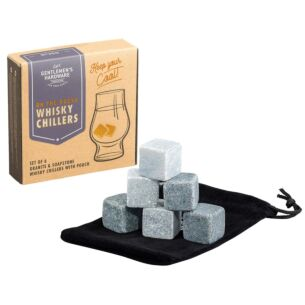 Gentlemen's Hardware Granite & Soapstone Whisky Chillers