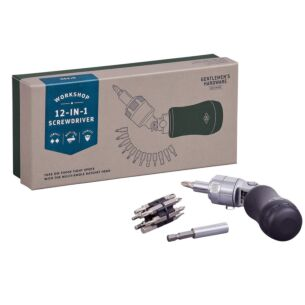 Gentlemen's Hardware 12-in-1 Screwdriver