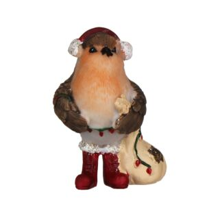 Standing Robin Christmas Ornament