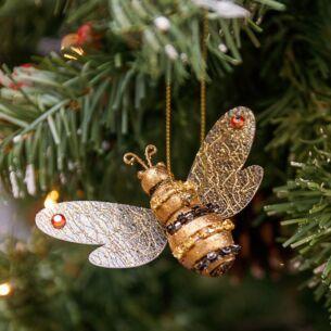Resin Bumblebee Tree Decoration