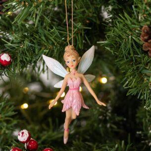 Resin Tinkerbell Fairy Tree Decoration