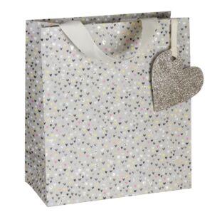 Paper Salad Hearts Medium Gift Bag