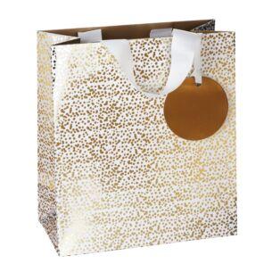 Stephanie Dyment Gold Fizz Medium Gift Bag