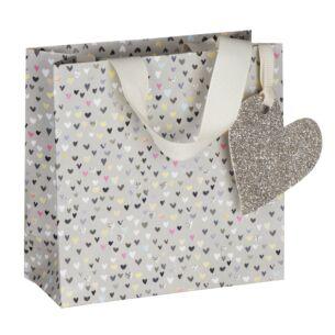 Paper Salad Hearts Small Gift Bag