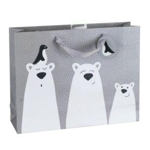 Polar Bear Landscape Large Gift Bag