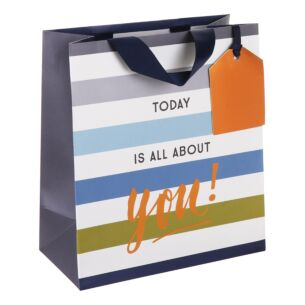 'All About You' Homme Medium Gift Bag