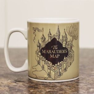 Marauder's Map Heat Changing Mug