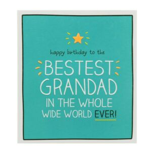 Grandad 'Best In Whole World Ever!' Card