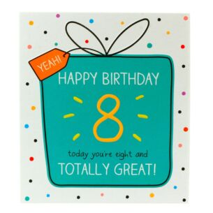 '8 and Totally Great' Card