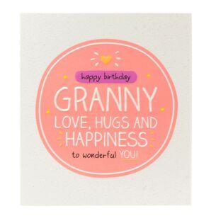 Happy Jackson 'Happy Birthday Granny' Card