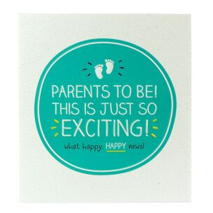 'Parents to Be' Card