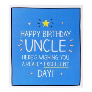 Happy Jackson 'Happy Birthday Uncle' Card