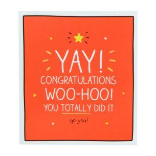 Congratulations Yay Woo-Hoo! Card