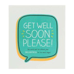 Get Well Soon Please Card
