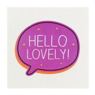 'Hello Lovely!' Card