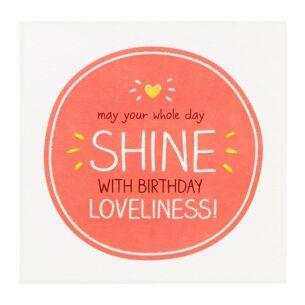 'Birthday Loveliness' Birthday Card