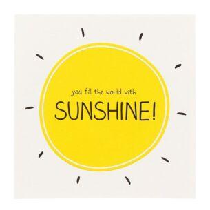 'Sunshine' Card