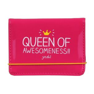 Happy Jackson Queen of Awesomeness Card Holder