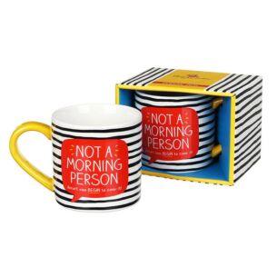 Happy Jackson Not A Morning Person Boxed Mug