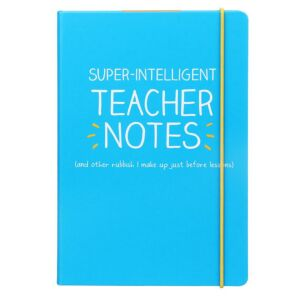 Happy Jackson 'Super Intelligent Teacher's Notes' A5 Notebook