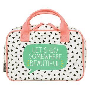 Happy Jackson Beauty Organiser Travel Bag