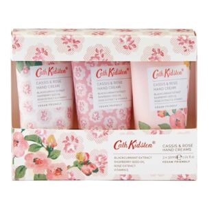 Cassis & Rose Set of 3 Hand Cream