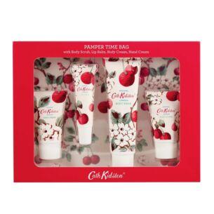 Cath Kidston Mini Cherry Sprig Pamper Time Set