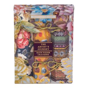 The Artist's Journey Trio of Bath Fizzer Crackers