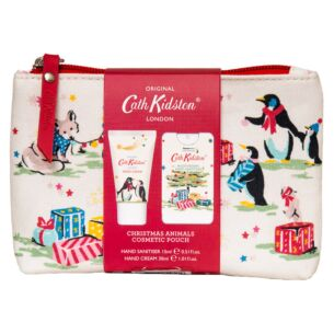 Festive Party Animals Cosmetic Pouch
