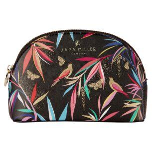 Black Bamboo Small Cosmetic Bag