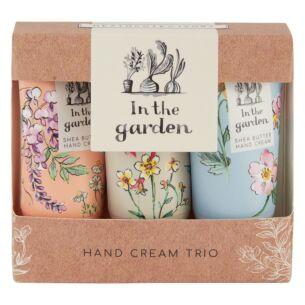In The Garden Set Of 3 Hand Creams