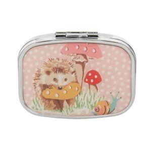 Cath Kidston Hedgehogs Compact Mirror & Lip Balm