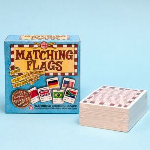 Pocket 'Matching Flags' Game