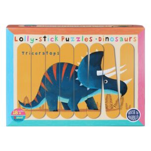 Dinosaurs Lolly Stick Puzzles
