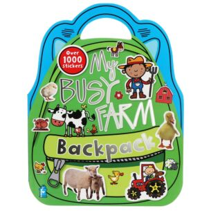 My Busy Farm Backpack Sticker Book